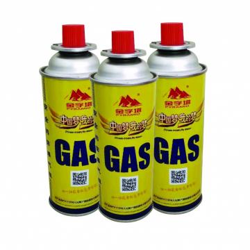 Butane Gas Cartridges Portable Fuel Cylinder Cooker Camping Hiking Picnic net weight 220g