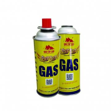 227g Camping butane gas cartridge gas refill 300ml