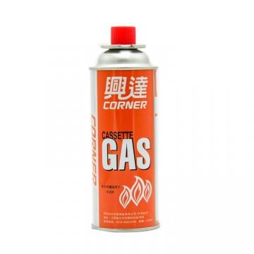 Portable refill tin aerosol camping butane gas cartridge can for Butane Gas / Stove