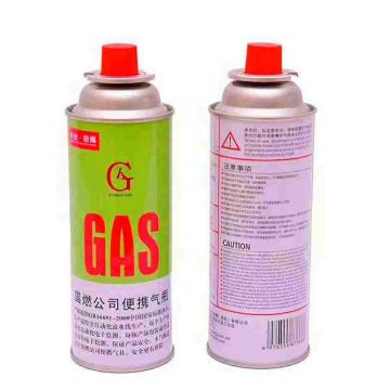 227g Round Shape Butane gas cartridge canister can cylinder